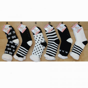 Spací ponožky - vzorované 272 EMIROS
