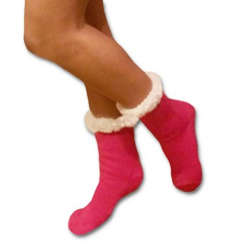 Spací ponožky - jednobarevné
