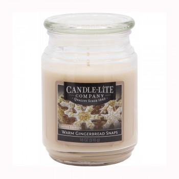 Candle-Lite WARM GINGERBREAD SNAPS 510g