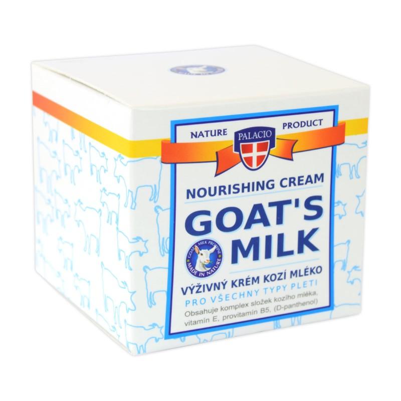 Palacio Výživný krém kozí mléko pro všechny typy pleti, 50 ml