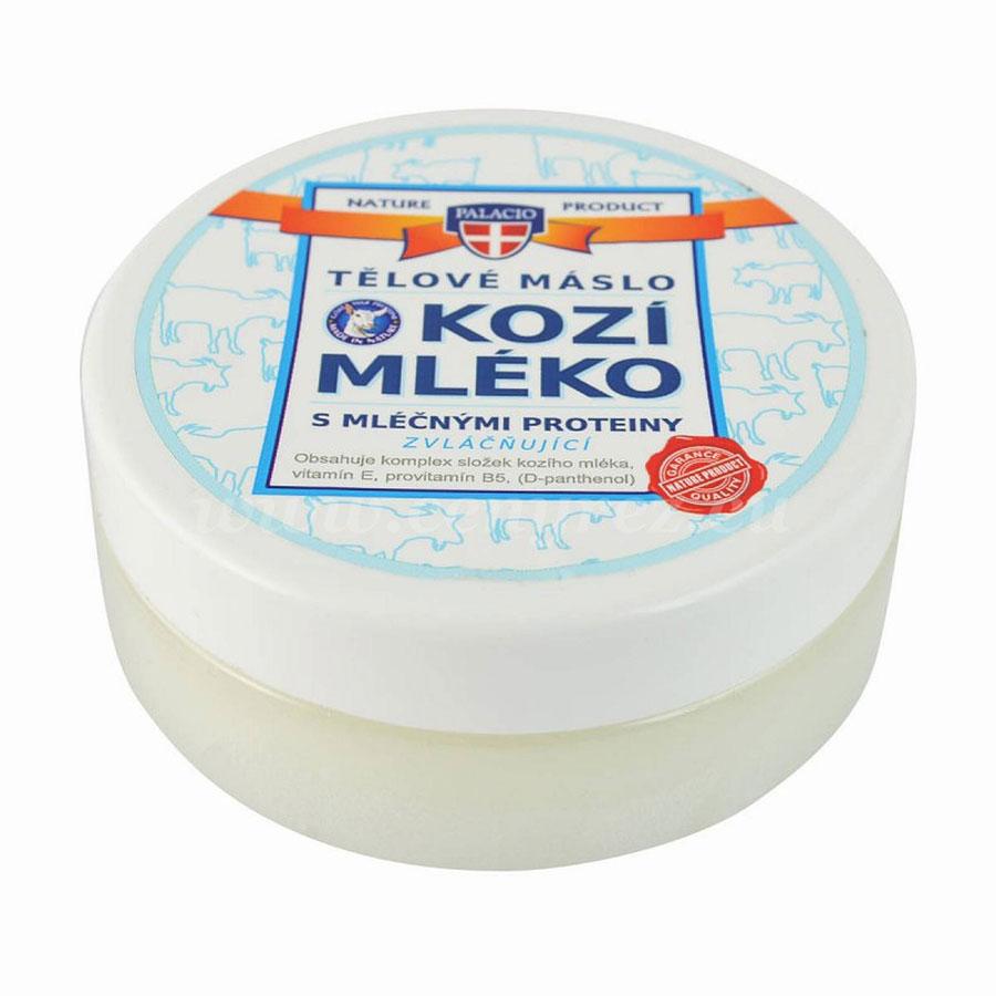 Palacio Kozí mléko tělové máslo, 200ml