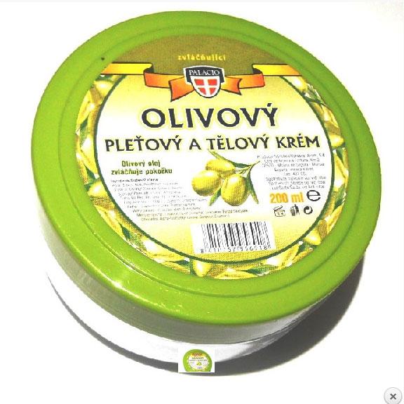 Palacio Olivový pleťový a tělový krém, 200ml