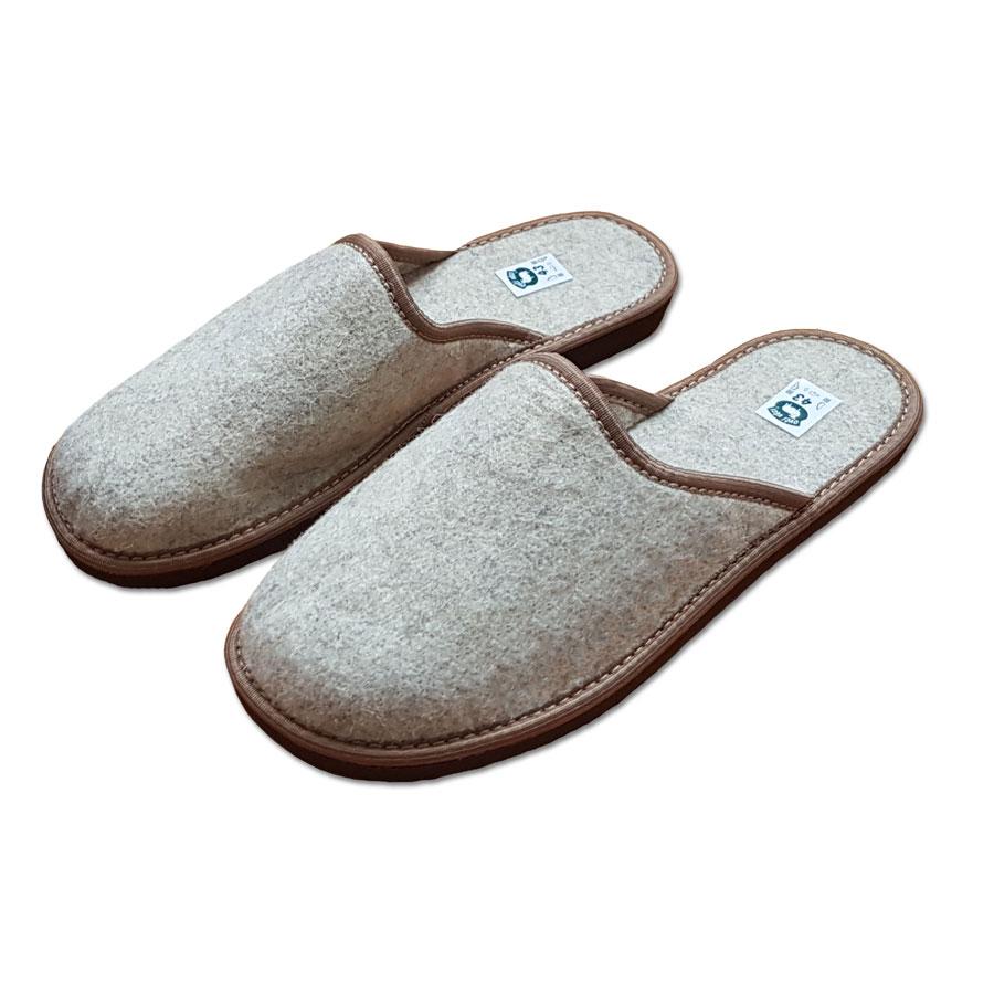 Pánské filcové pantofle