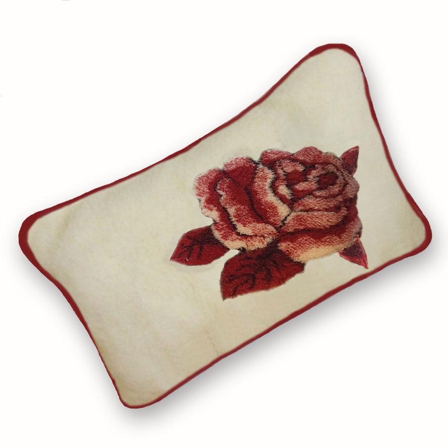 Polštář z ovčí vlny růže 45x75cm - polštář 40x60cm