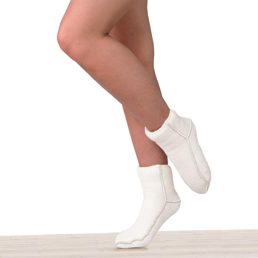 Ponožky vlněné - elastické