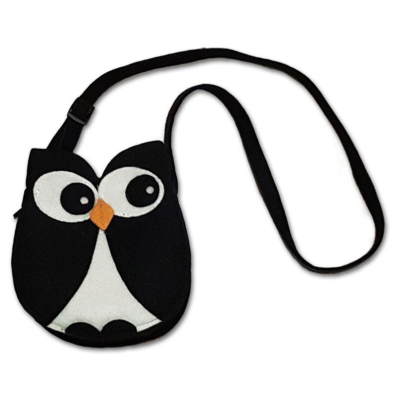 Filcová kabelka tučňák -