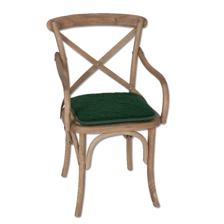 Podsedák na židli - Hunter 40X40cm