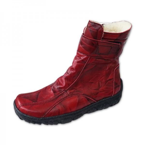 Dámské zimní boty červené 37