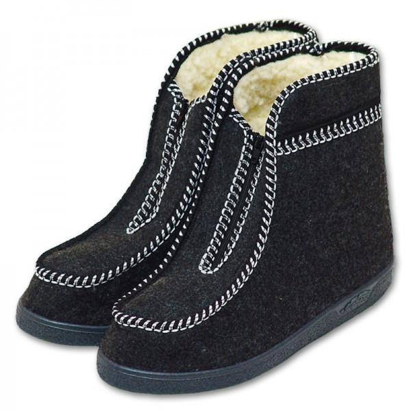 Valašské boty s ovčí vlnou - důchodky