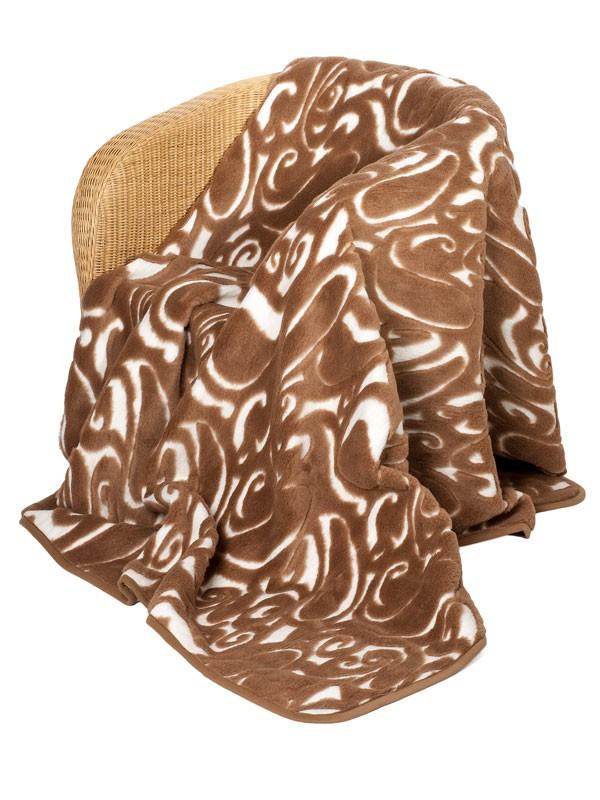 Vlněná deka CAMEL 140x200cm CAM-NEW-34 160 x 200cm