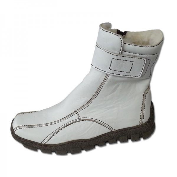 Dámské zimní boty bílá